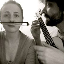 James Moore & Andie Springer play Fiddly Tune for Gertrudes Album Release in Brooklyn on November 21st