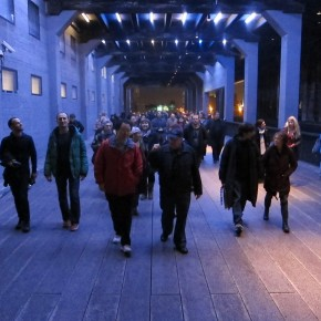 The Gaits is back!  Soundwalk-parade for the High Line on December 21st